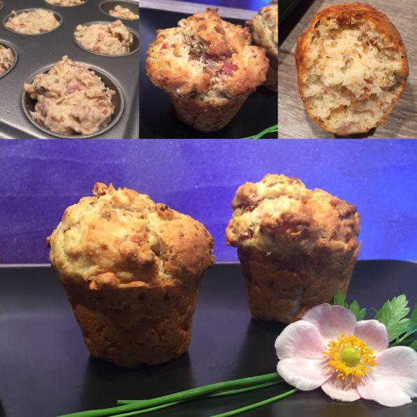 r stzwiebel schinken muffins herzhafte muffins kathis rezepte. Black Bedroom Furniture Sets. Home Design Ideas