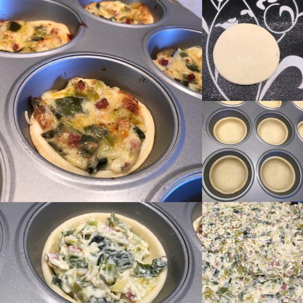 Mini Quiche 2 - Kathis Rezepte