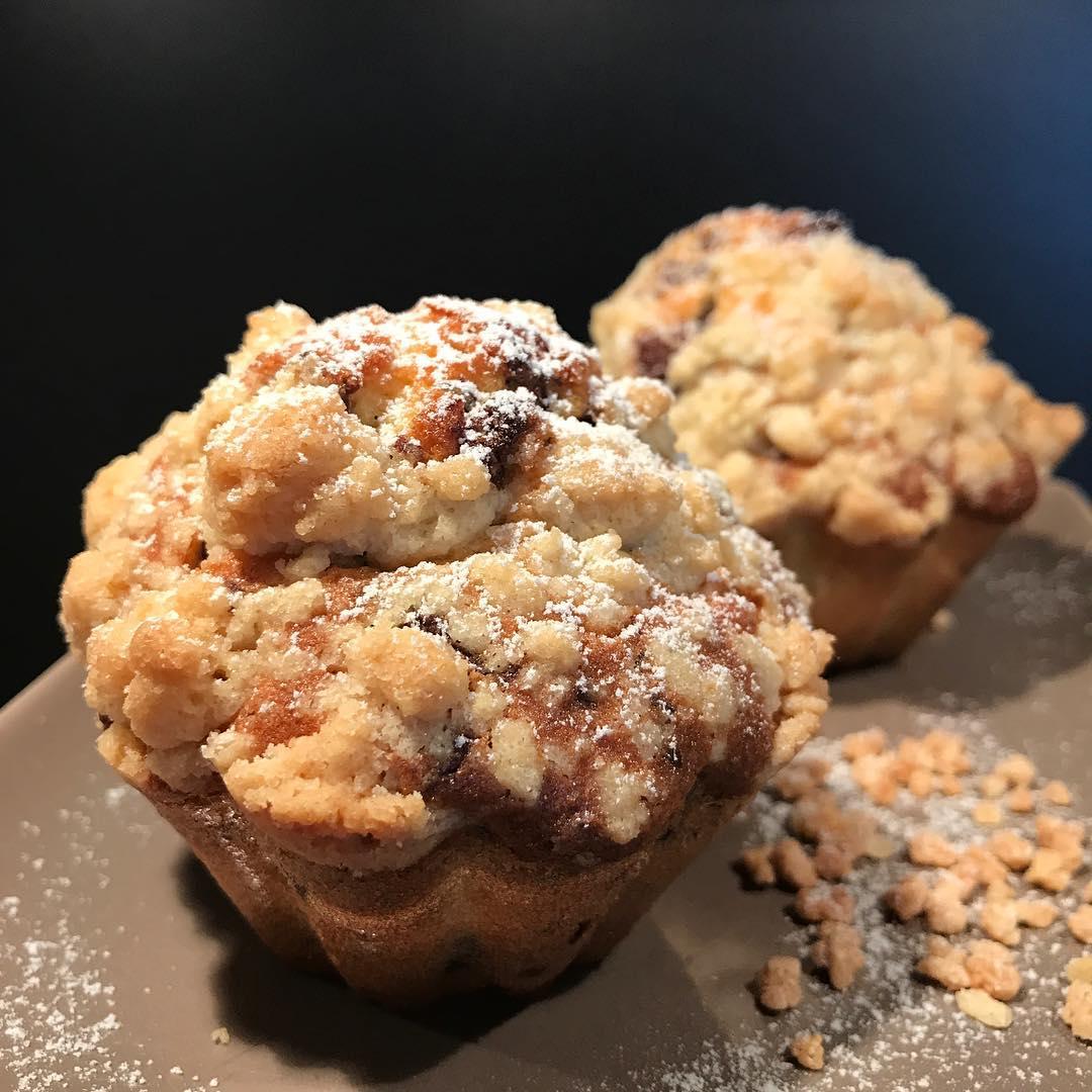 Muffins mit Schokolade und Streusel - Kathis Rezepte (1)