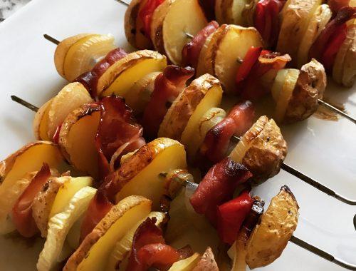 Kartoffelschaschlik - Kathis Rezepte