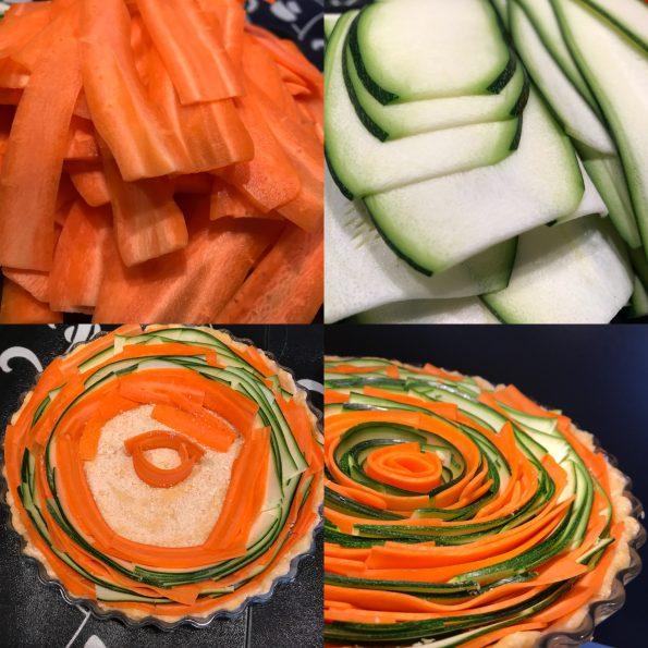 Gemüsequiche - Spiralquiche - Kathis Rezepte (4)