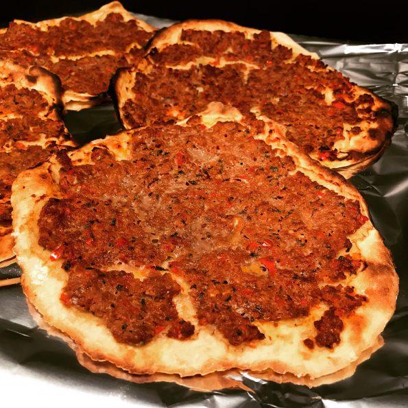 Lahmacun - türkische Pizza - Kathis Rezepte (1)