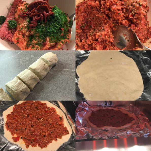 Lahmacun - türkische Pizza - Kathis Rezepte (2)