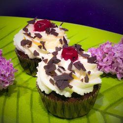 Schwarzwälderkirsch Cupcakes - Kathis Rezepte