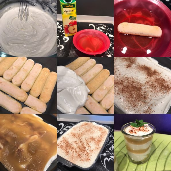 Apfeltraum - Apfeltiramisu - Kathis Rezepte (1)