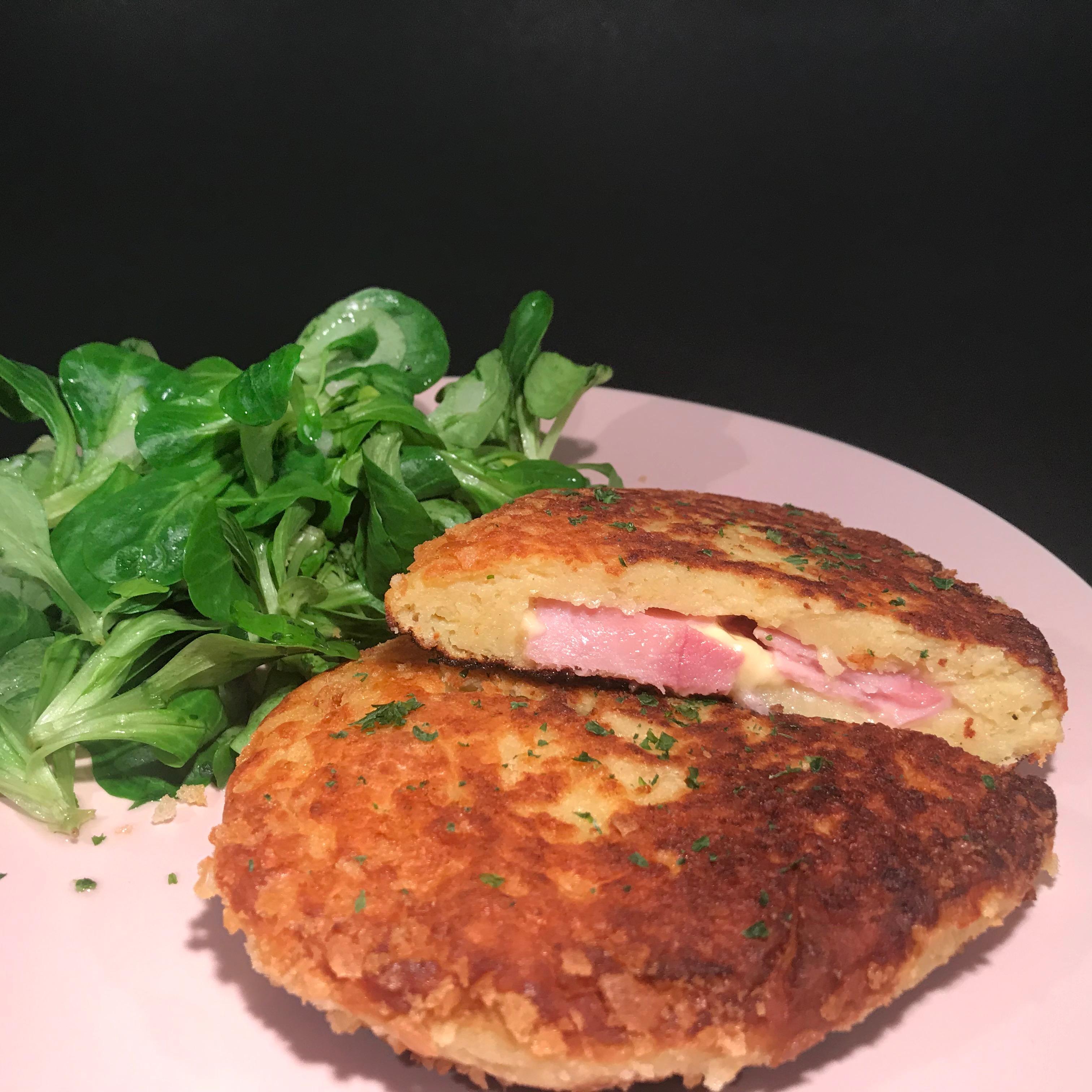 Kartoffel Cordon Bleu - Kathis Rezepte