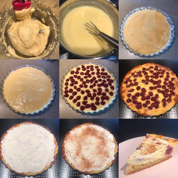 Kirsch Schmand Kuchen- Kathis Rezepte2
