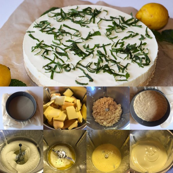 Zitronen Frischkäsetorte - Kathis Rezepte (3)