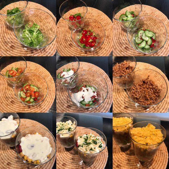 Nacho Salat - Mexikanischer Salat - Kathis Rezepte (1)