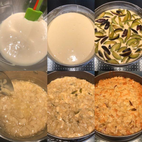 Zwetschgenkuchen mit Bienenstichkruste - Kathis Rezepte (1)
