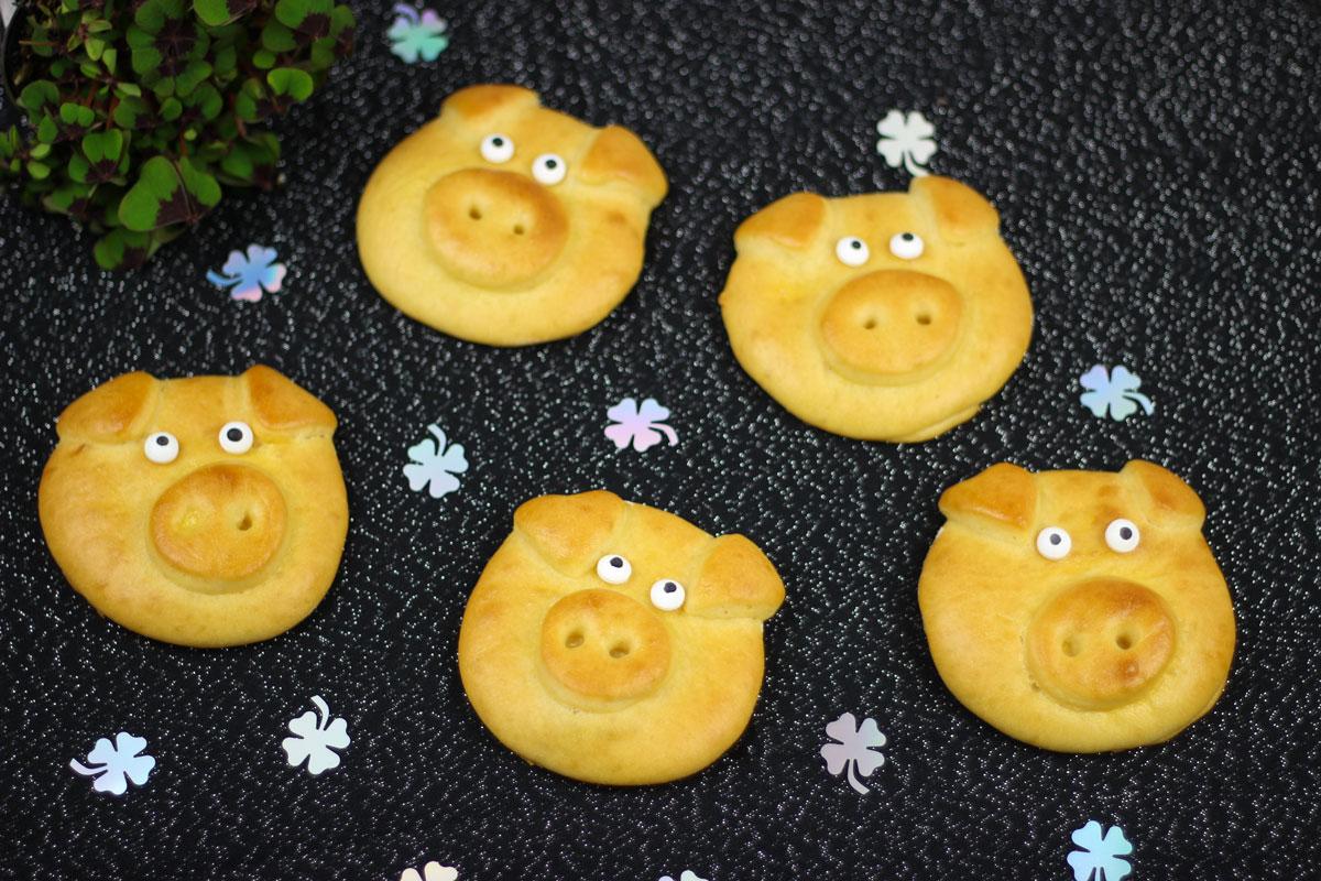 Glücksschweinchen - Kathis Rezepte