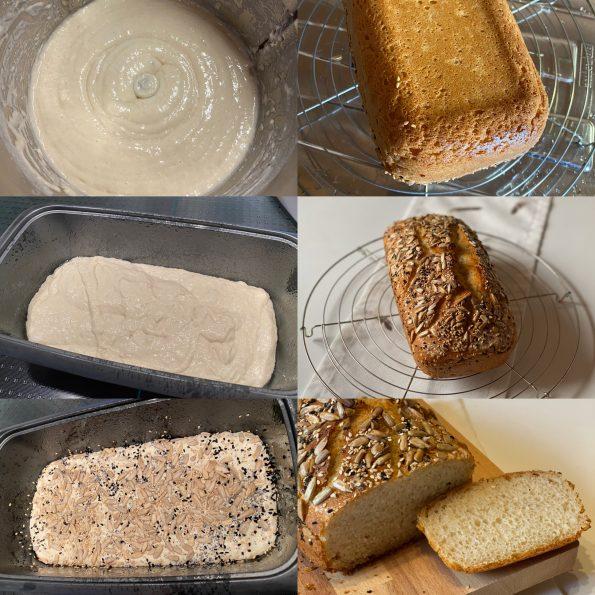 Mischbrot (Weizen : Dinkel)- Kastenbrot - Kathis Rezepte (2)