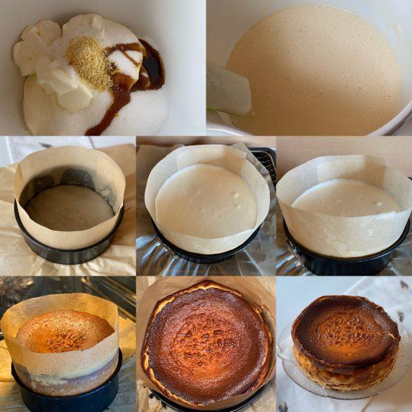 San Sebastian Cheesecake - Kathis Rezepte (2)