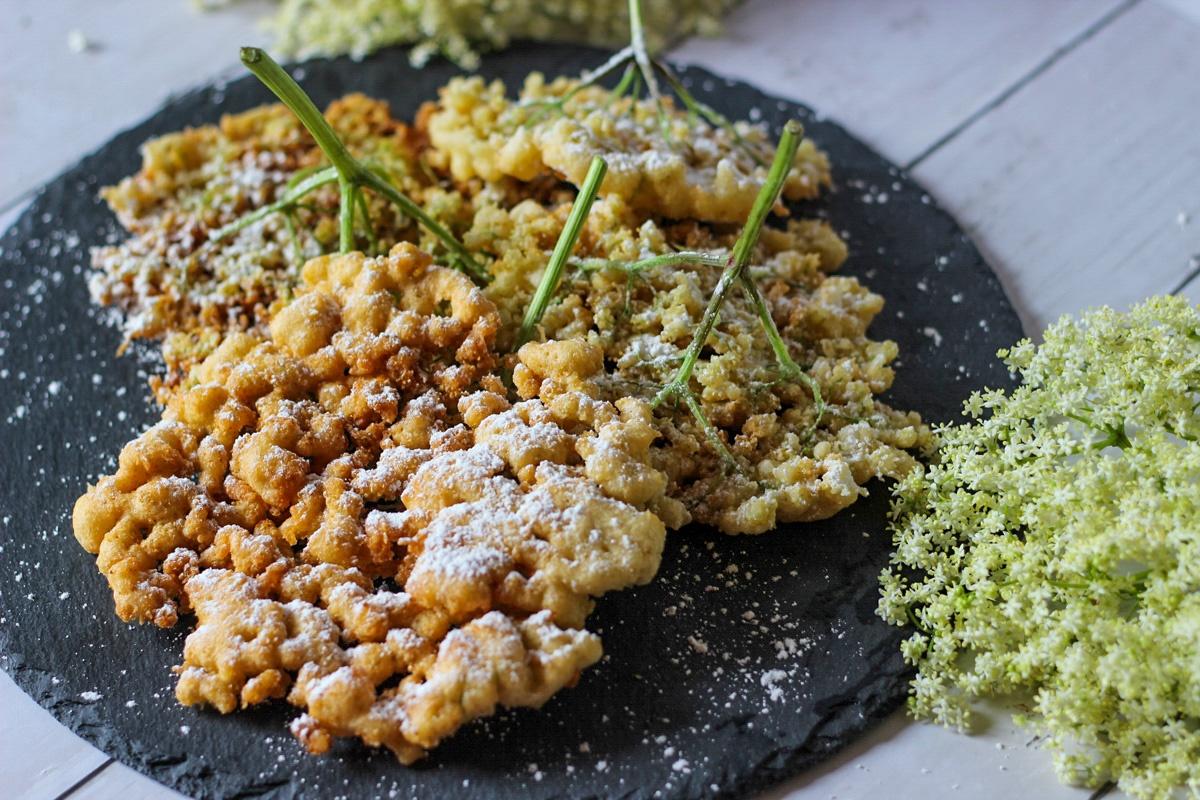 Holunderküchlein - Kathis Rezepte