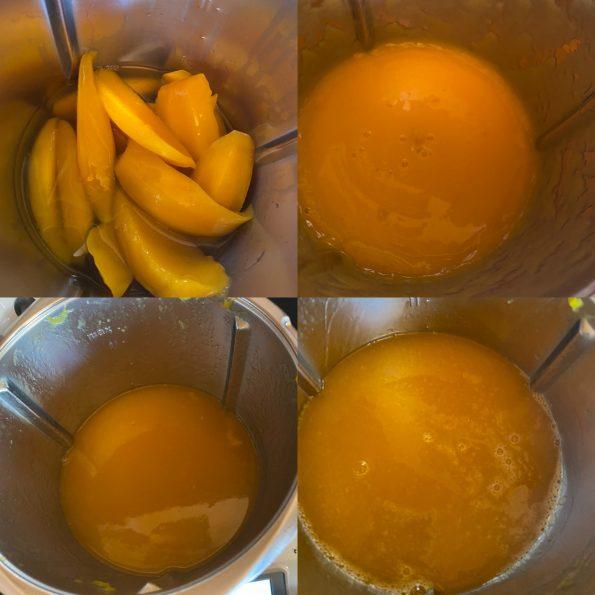 Mango Likör - Mango Limes - Kathis Rezepte (1)