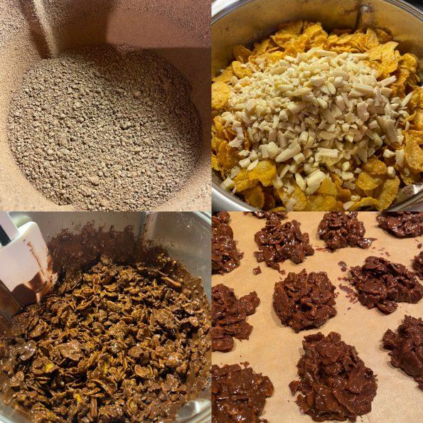 Schoko-Crossies bzw. Schokohaeufchen - Kathis Rezepte (1)