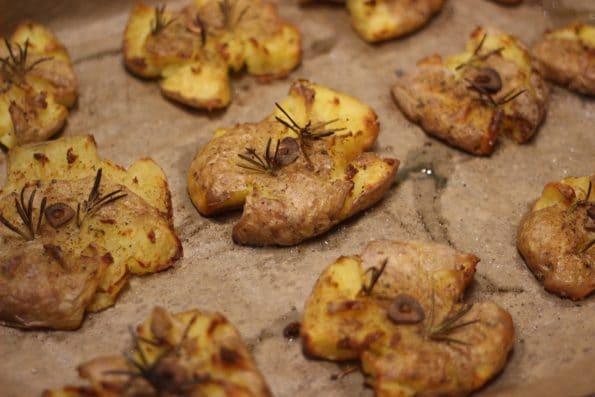 Smashed Potatoes - Kathis Rezepte (4)
