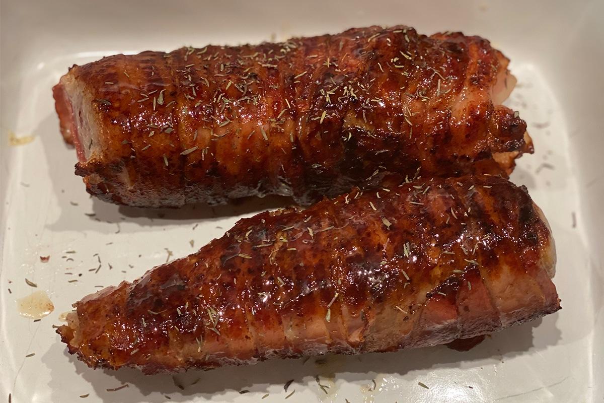 Filet im Honig Bacon Mantel - Kathis Rezepte