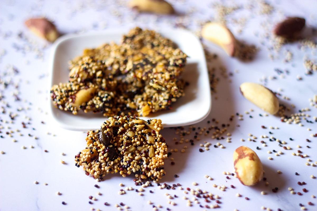 Quinoa-Brittle-Kathis-Rezepte