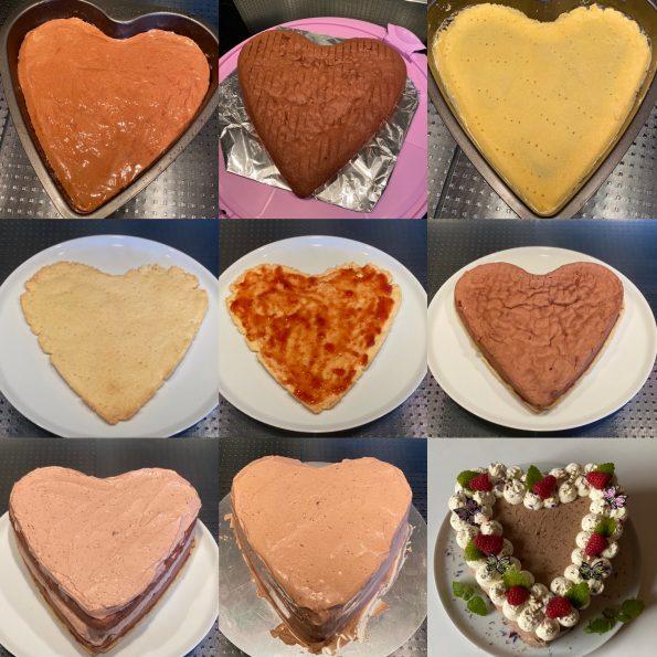 Schokoladentorte mit Mascarponecreme - Muttertagstorte.- Kathis Rezepte (2)